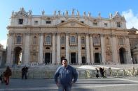 Turista en el Vaticano