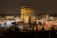 Arco de triunfo visto desde la oficina