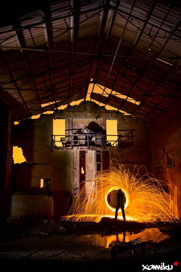 118/365 - El lanero y la fábrica