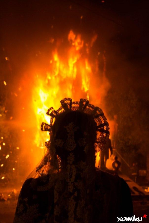 175/365 - La Bellea del Foc y la cremá