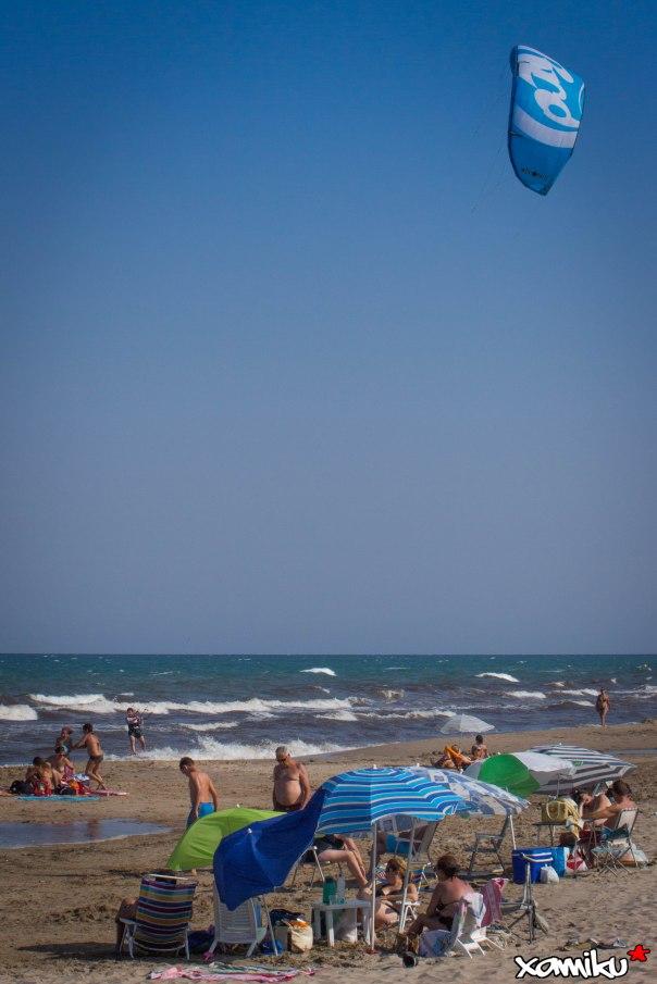 Proyecto 365 - 202 - Kite Surf vs Domingueros