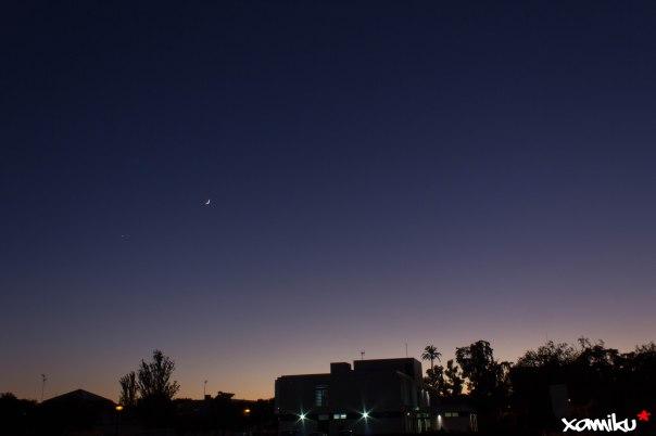 Proyecto 365 - 307 - Atardecer lunar