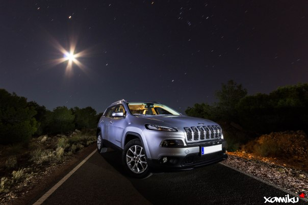 Proyecto 365 - 324 - New Jeep Cherokee @Moonrise